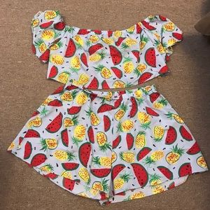 Plus Size Fruit Set size 3x